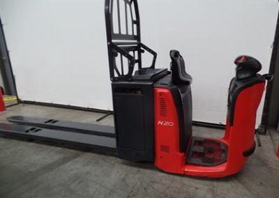 used forklift linde series 132 n20-n24hp electric order picker - U72046.1